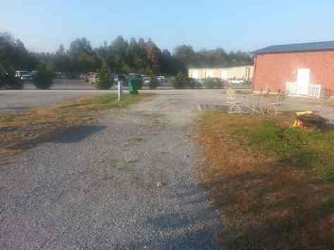 Duck Creek RV Park in Paducah Kentucky Pull thru