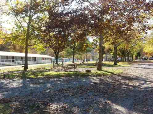 Eagle's Nest Campground in Pigeon Forge Tennessee Pull thrus