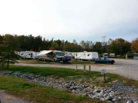 Exit 31 RV Park in Grand Rivers Kentucky RV Site