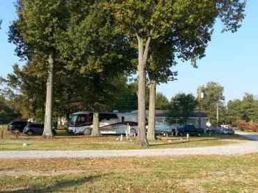 Fern Lake Campground in Paducah Kentucky Pull thrus