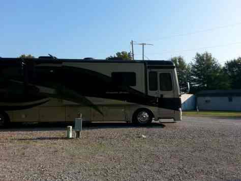 Fern Lake Campground in Paducah Kentucky Open Pull thrus