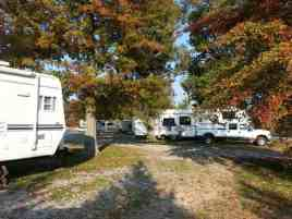 Fern Lake Campground in Paducah Kentucky Shaded Sites