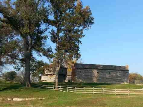 Fort Massac State Park in Metropolis Illinois Fort