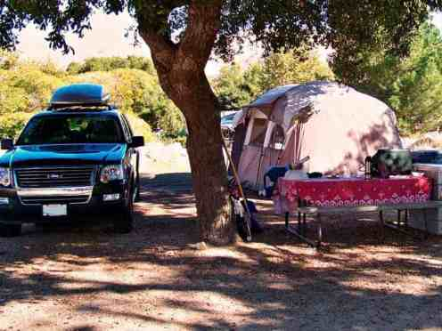 Glen Eden Nudist Resort in Corona California Tent Site
