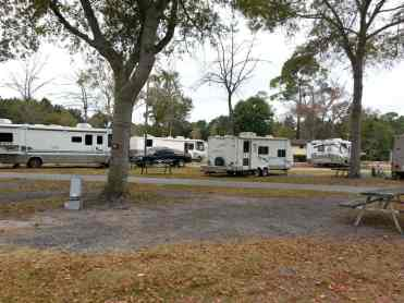 Golden Isles RV Park in Brunswick Georgia Pull Thu