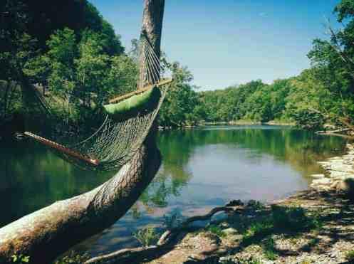 Greenbrier River Campground in Alderson West Virginia River View