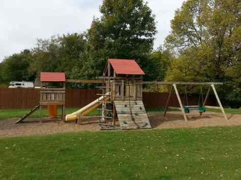 Griffs Valley View RV Park in Altoona Iowa Playground