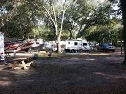 Happy Traveler RV Park in Thonotosassa Florida Backin
