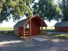 Hardin KOA in Hardin Montana Cabin