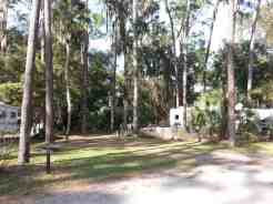 Hillsborough River State Park in Thonotosassa Florida RV Site