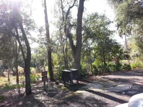 Hillsborough River State Park in Thonotosassa Florida Dump Station