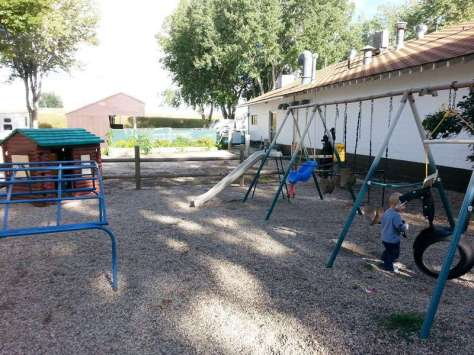 Indian Campground and RV Park in Buffalo Wyoming Playground