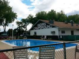 Indian Campground and RV Park in Buffalo Wyoming Pool