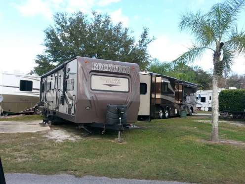 International RV Park and Campground in Daytona Beach Florida RV Sites