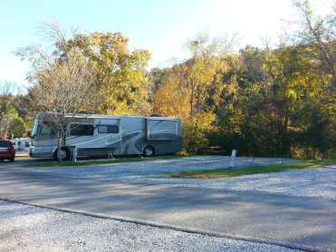King's Holly Haven RV Park in Pigeon Forge Tennessee Backins