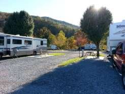 King's Holly Haven RV Park in Pigeon Forge Tennessee Pull thru
