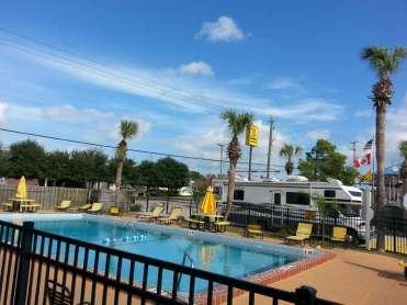 St. Augustine Beach KOA in St Augustine Florida Pool