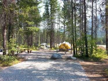 koa-west-glacier-montana-tent-site