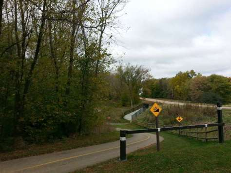 Lake Auburn Campground at Carver Park Reserve in Victoria Minnesota Bike Trail