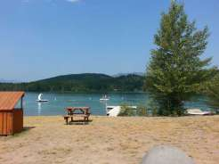 lake-five-resort-west-glacier-montana-lake
