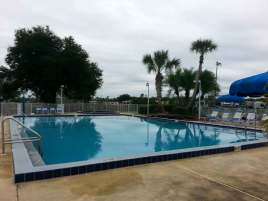 Lake Magic RV Resort in Clermont Florida Pool
