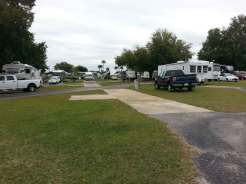 Lake Magic RV Resort in Clermont Florida Pull Thru