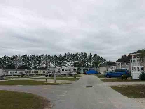 Lake Magic RV Resort in Clermont Florida Roadway