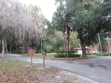 Magnolia Park Campground in Apopka Florida Entrance