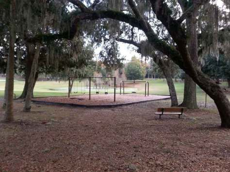 Magnolia Park Campground in Apopka Florida Swing