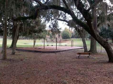 Magnolia Park Campground in Apopka Florida Swing