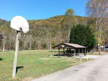 Mountaineer Campground in Townsend Tennessee Pavilion