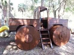 New Smyrna Beach RV Park and Campground in New Smyrna Beach Florida Play Equipment