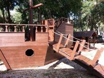 New Smyrna Beach RV Park and Campground in New Smyrna Beach Florida Playground