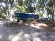 Nova Campground in Port Orange Florida Backin
