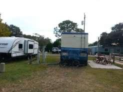 Ocean Grove RV Resort in Saint Augustine Florida Pull thrus