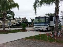 Orlando SE Lake Whippoorwill KOA in Orlando Florida Concrete Pull thru
