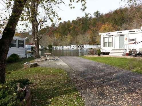 Outdoor Resorts at Gatlinburg near Gatlinburg Tennessee Backin