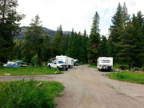 pebble-creek-campground-yellowstone-national-park-rv-site