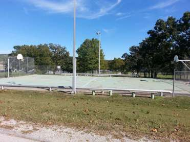 Port of Kimberling Marina RV Park and Campground in Kimberling City Missouri Ball Court
