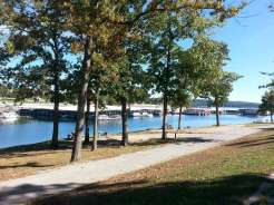 Port of Kimberling Marina RV Park and Campground in Kimberling City Missouri lake view