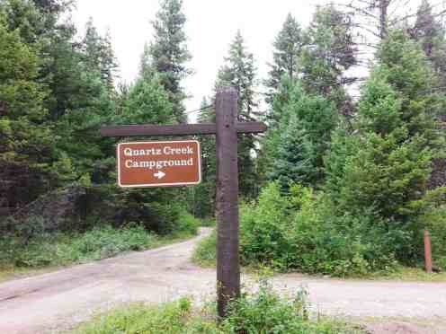 Quartz Creek Campground Polebridge Montana Rv Park