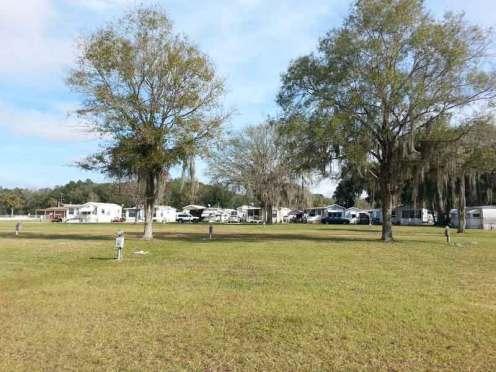 River Palm RV Resort in Thonotosassa Florida RV Sites