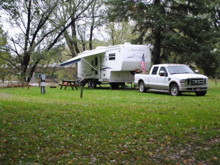 Riverside RV Campground Bainbridge New York RV Site