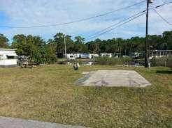 Rose Bay Travel Park in Port Orange Florida Backin Water Front