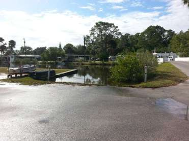 Rose Bay Travel Park in Port Orange Florida Boat Launch