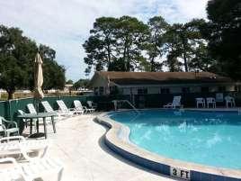 Rose Bay Travel Park in Port Orange Florida Pool