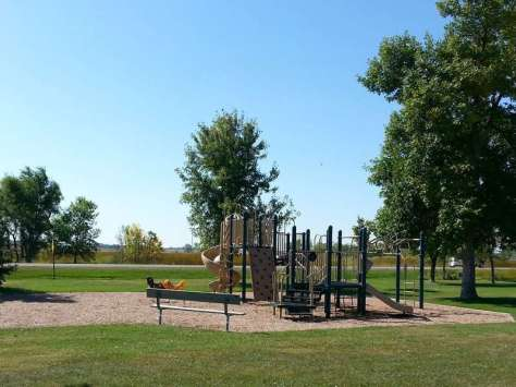 Sandy Shore Recreation Area near Watertown South Dakota Playground