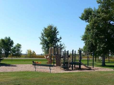 Sandy Shore Recreation Area near Watertown South Dakota Playground