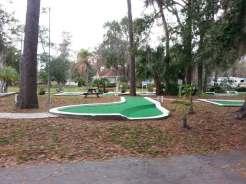 Sherwood Forest RV Park in Kissimmee Florida Mini Golf