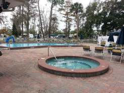 Sherwood Forest RV Park in Kissimmee Florida Pool